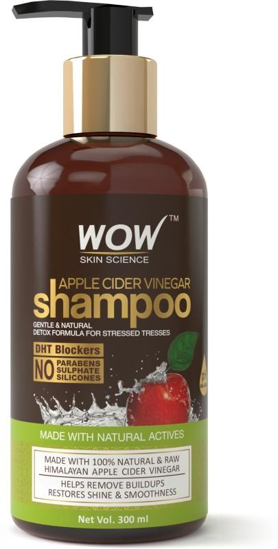 WOW SKIN SCIENCE APPLE CIDER VINEGAR SHAMPOO(300 ml)