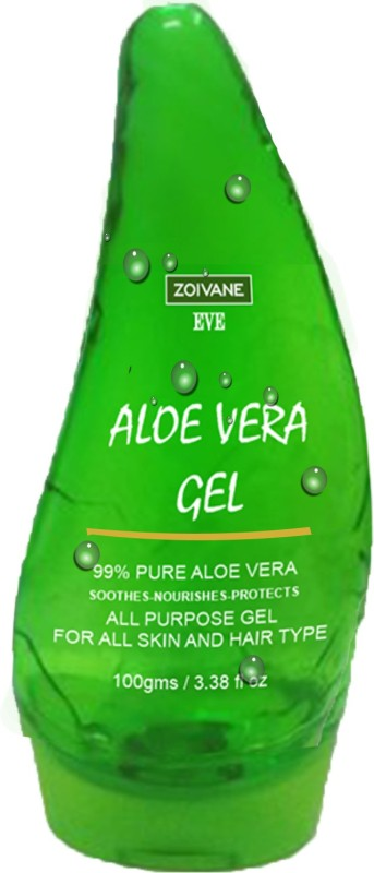 Zoivane Aloe Vera Gel - Moisturizing Therapy for Skin & Hair(100 g)