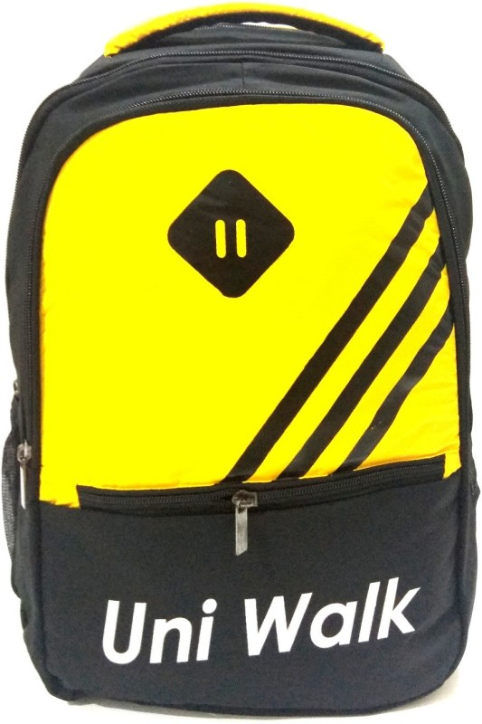 Uni Walk 30L Casual, Collage, Office,Traval Backpack (Yellow) 30 L Backpack(Yellow)