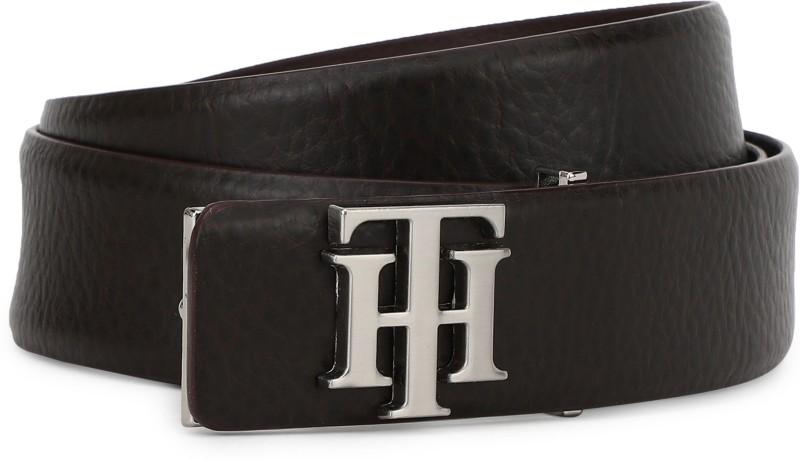 Tommy Hilfiger Men Formal Brown Genuine Leather Belt