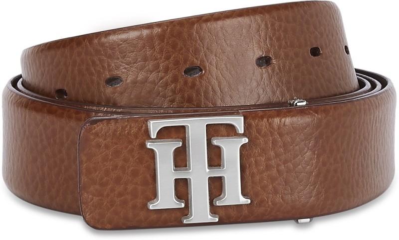 Tommy Hilfiger Men Formal Tan Genuine Leather Belt