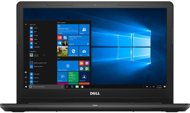 Dell Inspiron 15 3000 Core i5 8th Gen - (8 GB/2 TB HDD/Windows 10 Home/2 GB Graphics) 3576 Laptop(15.6 inch, Grey, 2.13 kg, With MS Office)