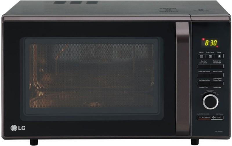 LG 28 L Convection Microwave Oven(MC2886BLT, Black)
