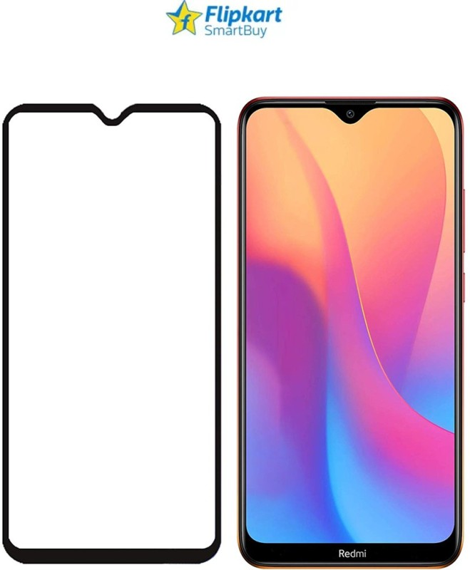 Flipkart SmartBuy Edge To Edge Tempered Glass for Mi Redmi 8, Mi Redmi 8A(Pack of 1)