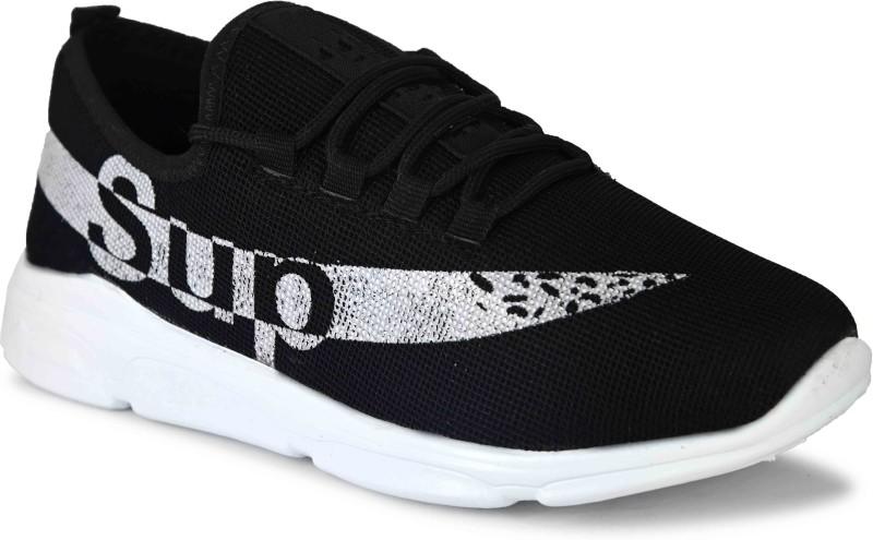 DEEKADA Trendy + Stylish Sports Sneakers For Boy's & Men's Walking Shoes For Men(Black)