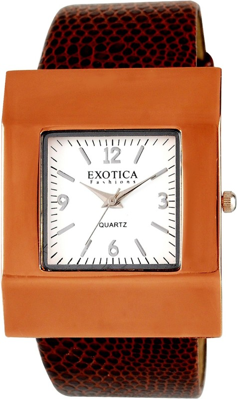 Exotica Fashions EFG-04-Red Analog Watch