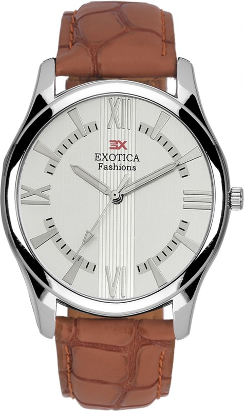 Exotica Fashions EFGM-22-Light-Brown-New New Series Analog Watch - For Men