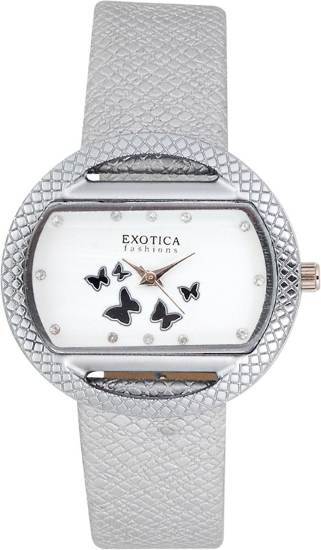 Exotica Fashions EFL-09-White Basic Analog Watch - For Women