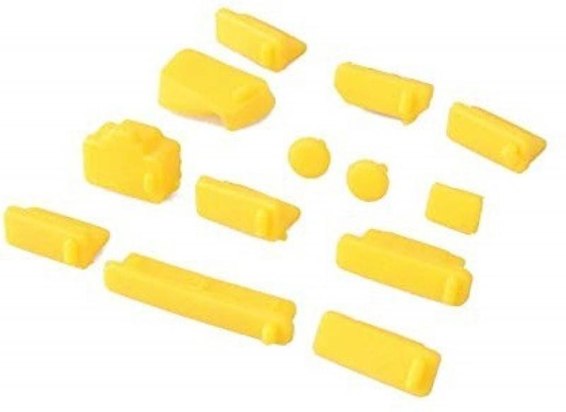 Action Pro 13Pcs Silicone Anti Dust Plug USB Yellow Anti-dust Plug(Laptop Pack of 1)
