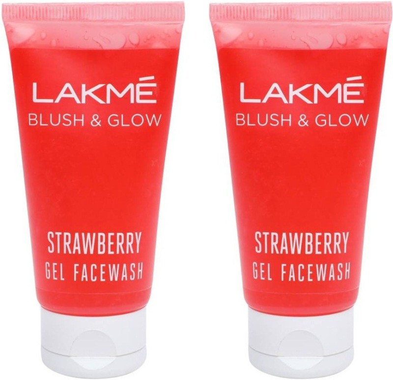 Lakme Blush & Glow Strawberry Freshness Gel Face Wash with Strawberry Extracts Face Wash(100)