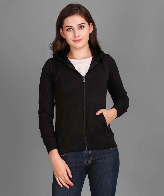 Christy World Full Sleeve Solid Women Jacket