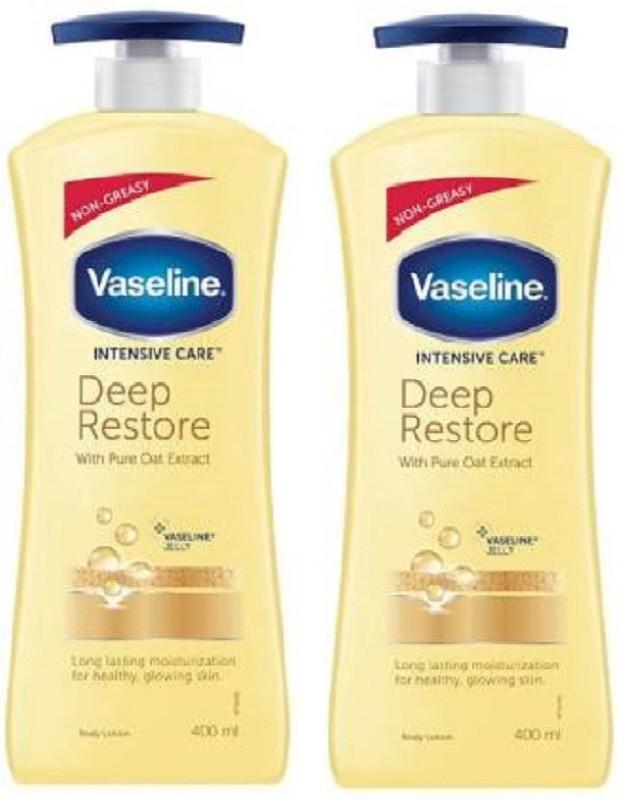 Vaseline winter lotion deep resotre 400ml X 2(800 ml)