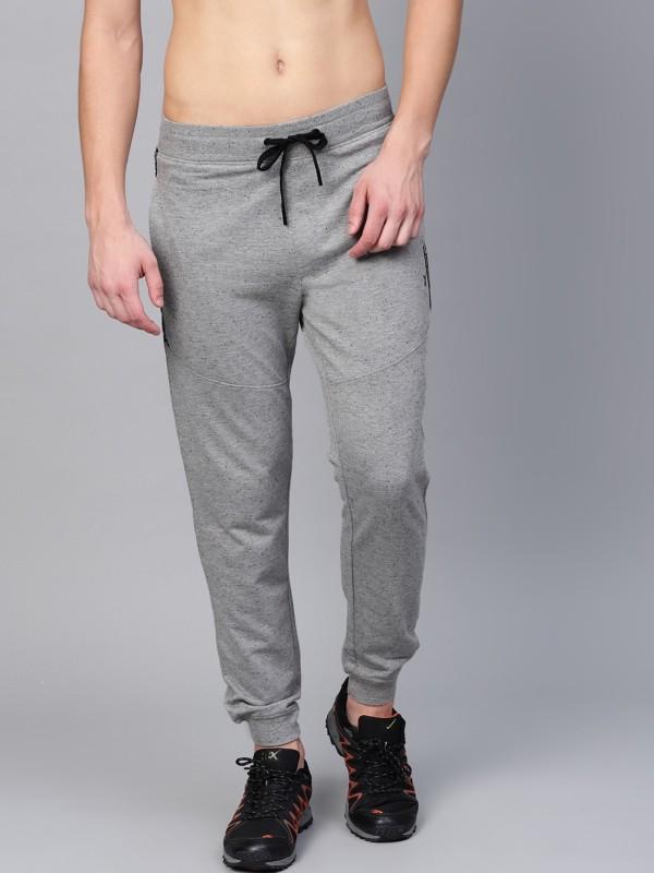 HRX by Hrithik Roshan Solid Men Grey Track Pants