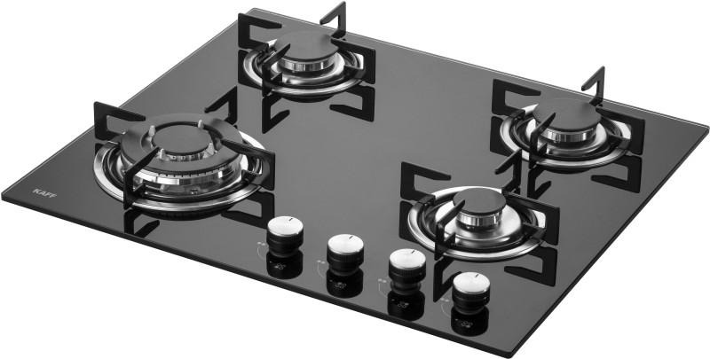 Kaff NE 4B 60 GF Glass Automatic Gas Stove(4 Burners)