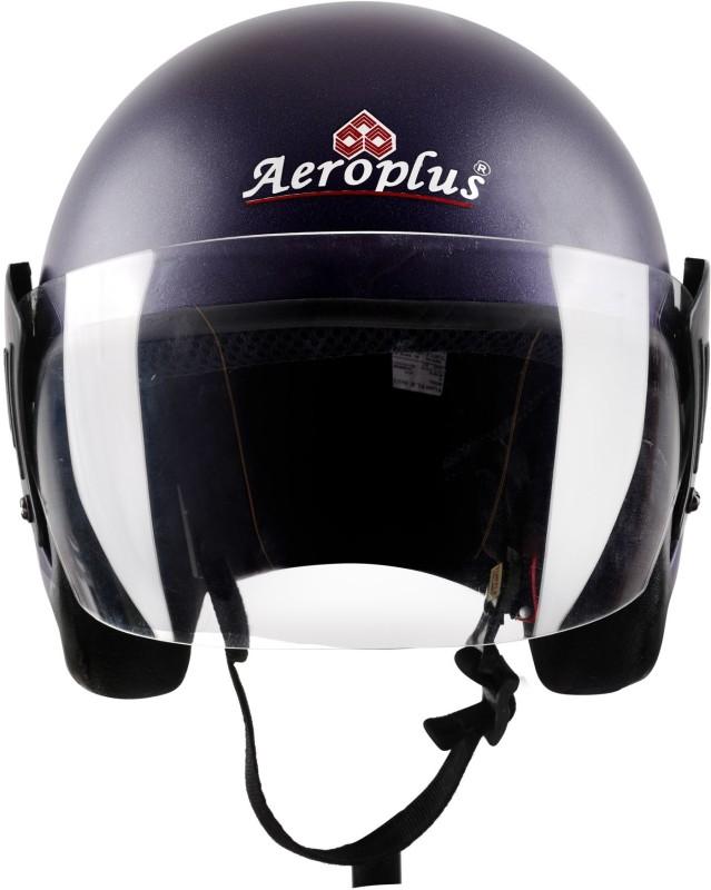 AEROPLUS BLUE MATTE Half Face Helmet Motorbike Helmet(BLUE MATTE)