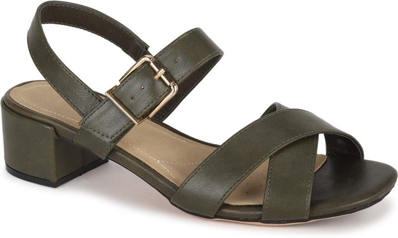 Van Heusen Women Green Sandals