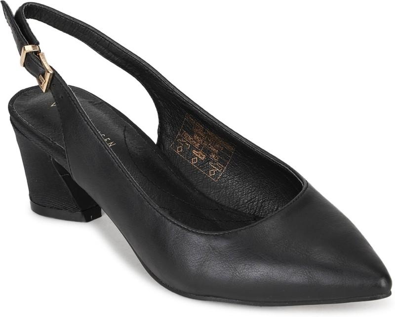 Van Heusen Women Black Sandals