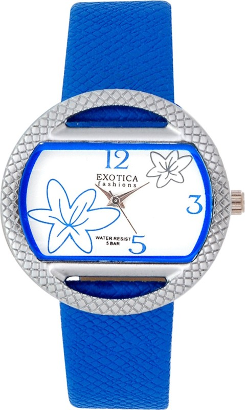 Exotica Fashions EFL-24-Blue Basic Analog Watch - For Women