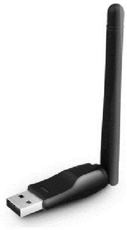 SEASPIRIT t WiFi Dongle Wireless 802.11n/g/b with Antenna Black USB Router Antenna Booster
