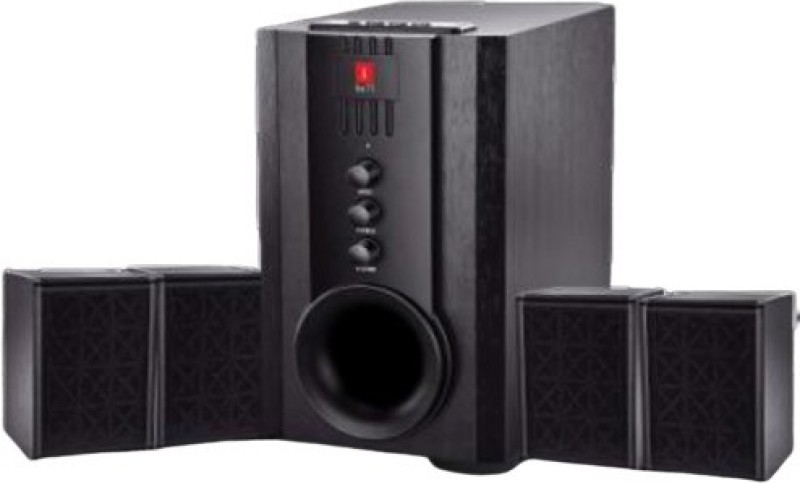 I BALL 4.1 USB, FM, SD/MMC 60 W Home Theatre (Black, 4.1 Channel) 4.1 Home Cinema