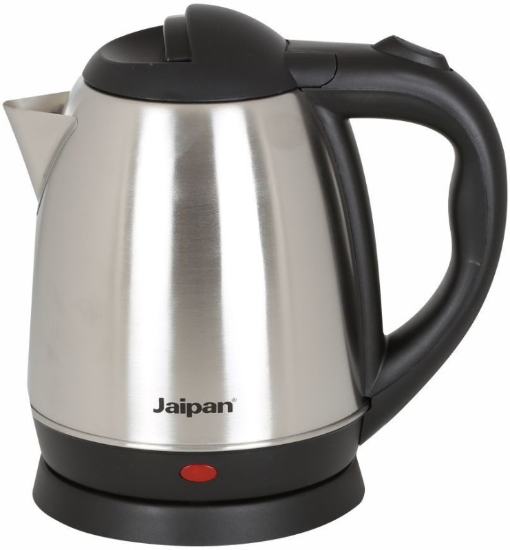 Jaipan JEK-1500 Electric Kettle(1.7 L, Silver, Grey)