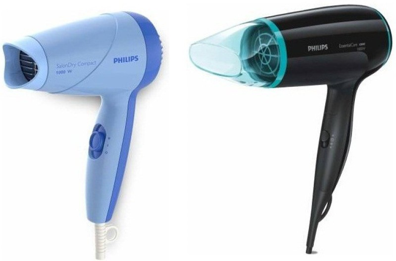 Philips Essential C Hair Dryer(1800 W, Blue, Black)