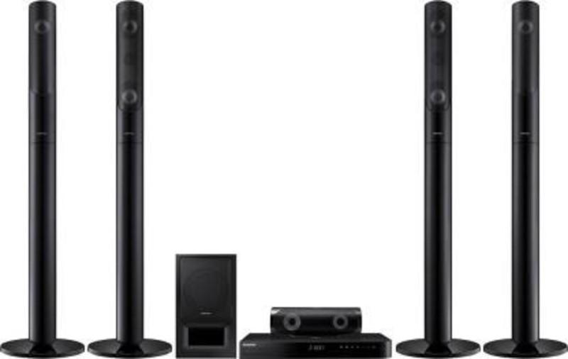 Samsung HT-J5550K 1000 W Bluetooth Tower Speaker (Black, 5.1 Channel) 5.1 Home Cinema
