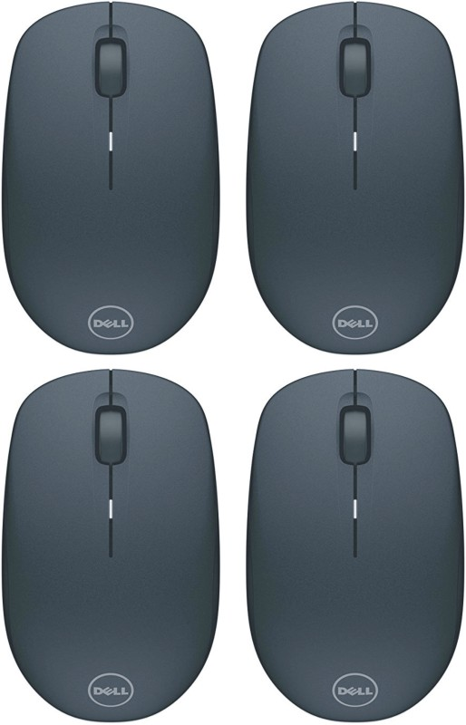 Dell WM126-4P Wireless Optical Mouse(2.4GHz Wireless, Black)