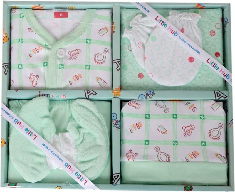 Smart Kids Born Baby GreenColor Gift Set(Multicolor)
