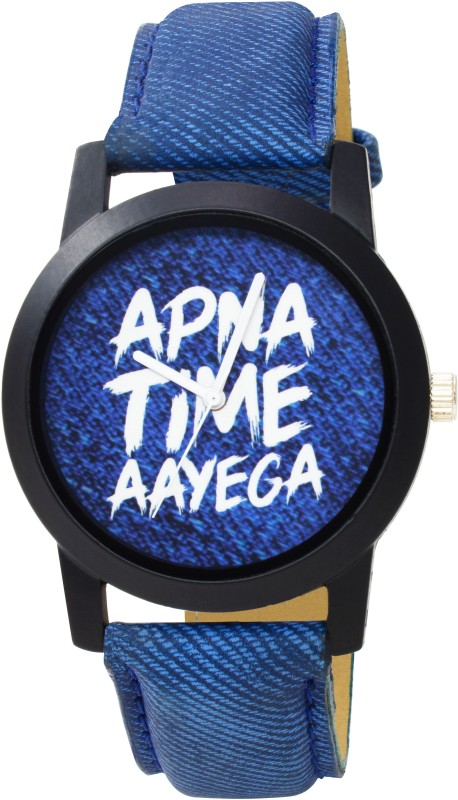 R&P ENTERPRISE Apna Time Aayega Stylish Professional Analog Watch - For Men