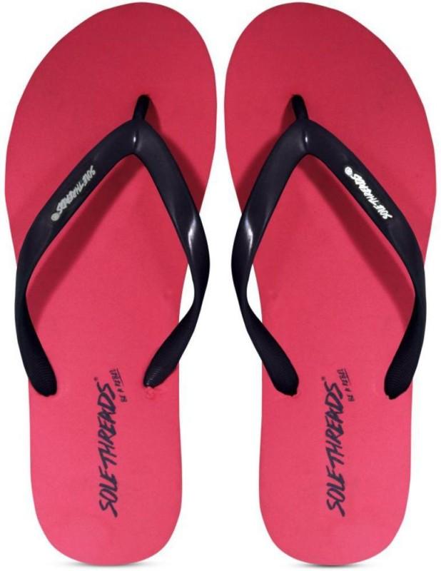 Sole Threads Solethreads Women Navy Pink ST-BASIC-(L) Flip Flops Flip Flops