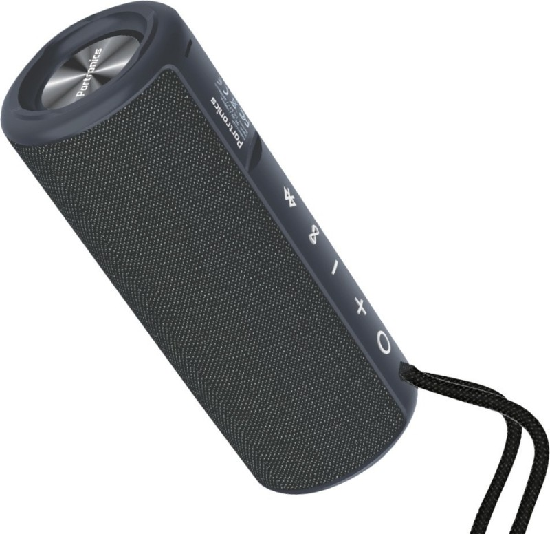 Portronics POR-545 Breeze Plus 20 W Bluetooth Speaker(Black, Stereo Channel)