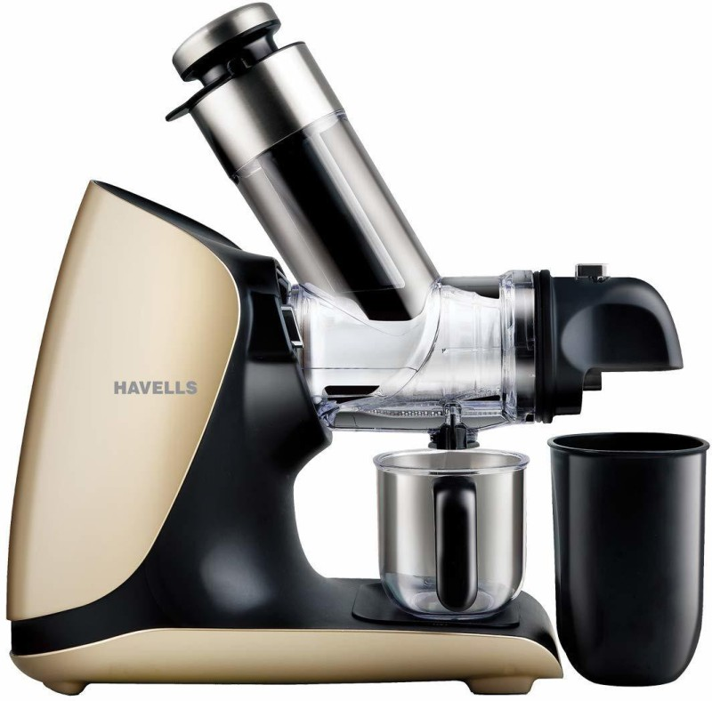 Havells Nutri Art Slow Juicer 200 W 200 Juicer(Black)