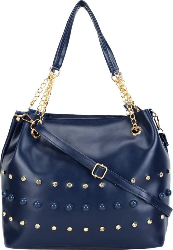 MH Women Blue Shoulder Bag
