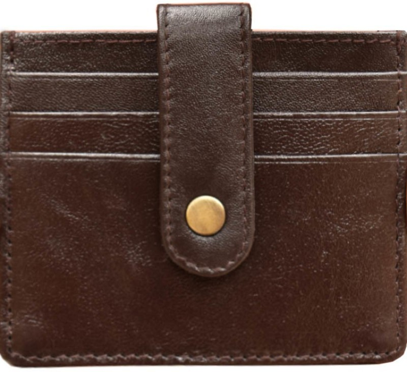 MATSS Men Wallet || Wallet || Card Holder 6 Card Holder(Set of 1, Brown)