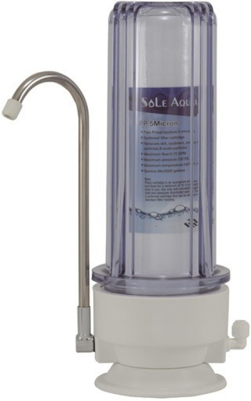 Sole Aqua SINGLE STAGE WATER FILTER 4000L Solid Filter Cartridge(0.005, Pack of 1)