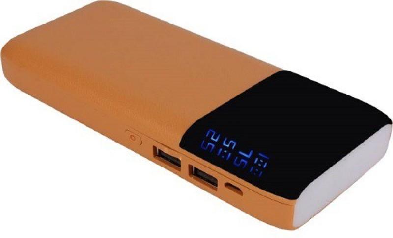 Nestra 20000 mAh Power Bank (PR-201, High Speed Portable Battery)(Brown, Lithium-ion)