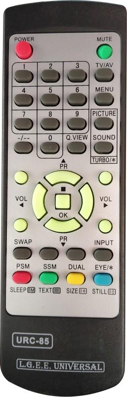 Axelleindia Compatible Remote For CRT TV Remote LG Remote Controller(Black)
