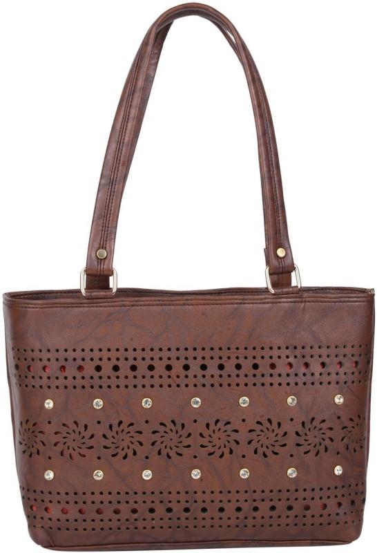 Hiva Purse H1257 Shoulder Bag(Brown, 3 L)