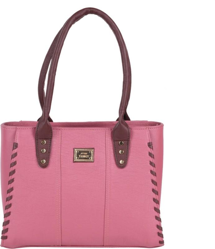 Hiva Purse H1213 Shoulder Bag(Pink, 3 L)