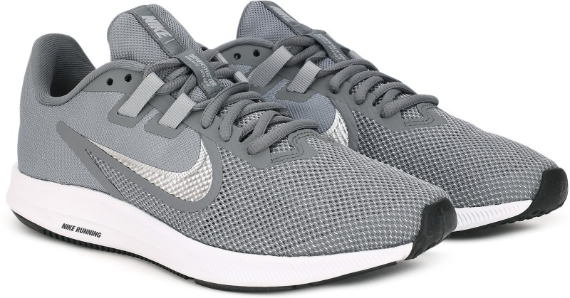Nike DOWNSHIFTER 9 Running Shoes For Men(Grey)