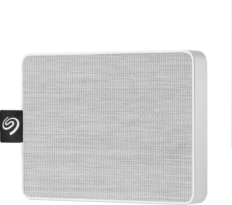 Seagate One Touch 1 TB External Solid State Drive(White)