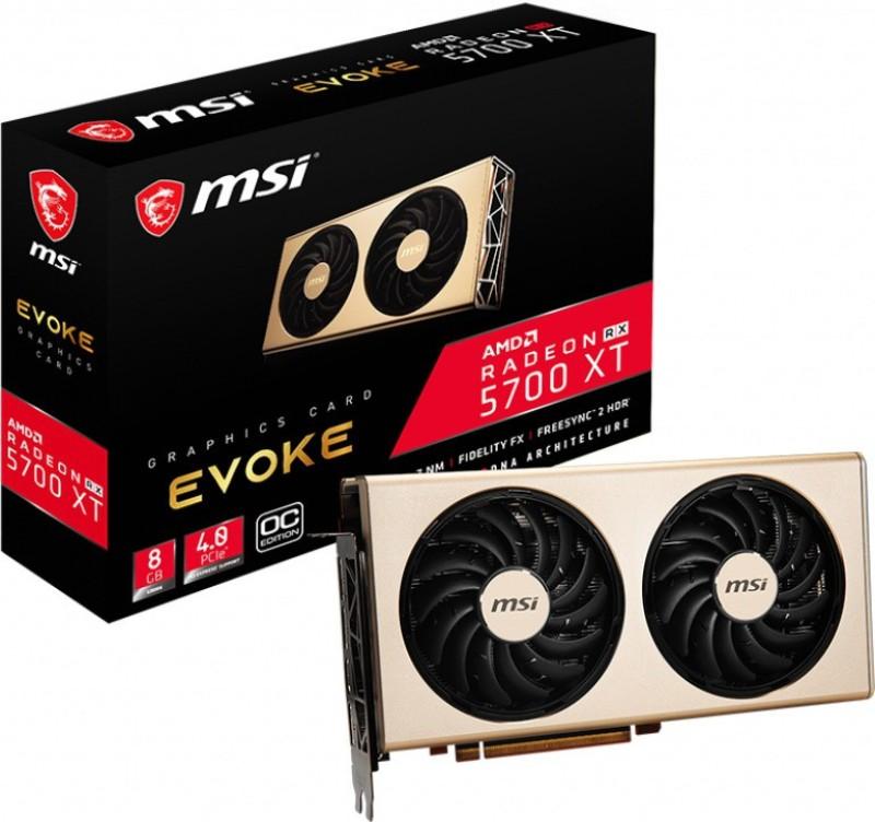 MSI AMD/ATI Radeon RX 5700 XT EVOKE 8G 8 GB GDDR6 Graphics Card