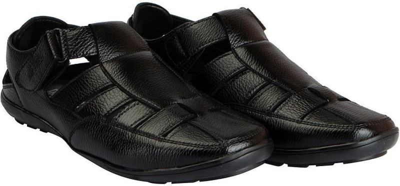 Bata Men Black Flats