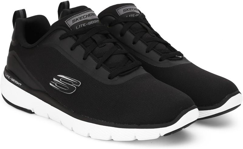 Skechers FLEXADVANTAGE3.0 Running Shoes For Men(Black)