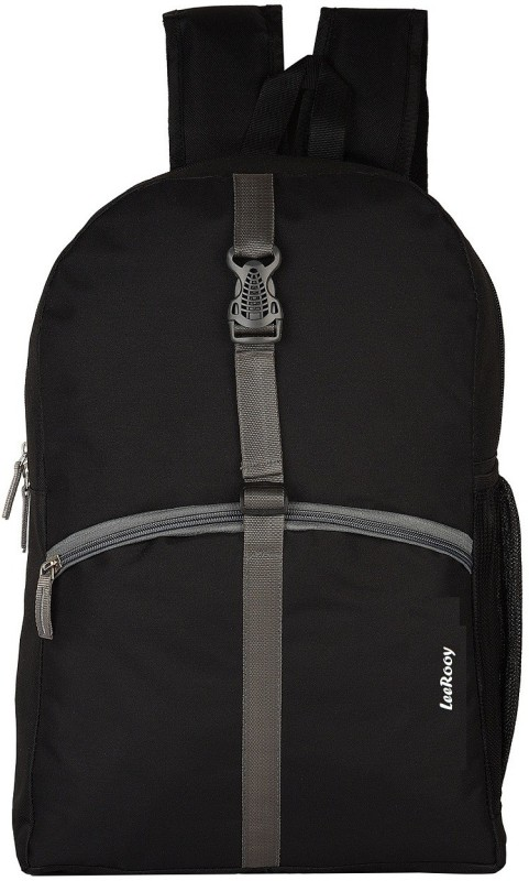LeeRooy SHBG014-02 Waterproof Backpack(Black, 22 L)