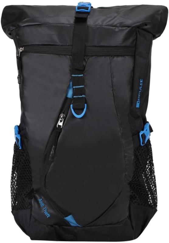 Impulse Anti-theft 45 Litres 45 L Backpack(Black)