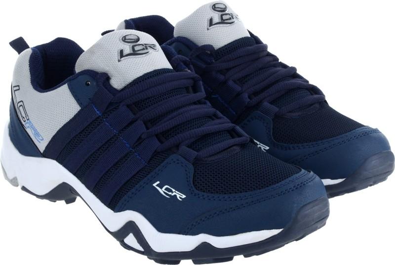 Lancer Running Shoes For Men(Blue, Grey)