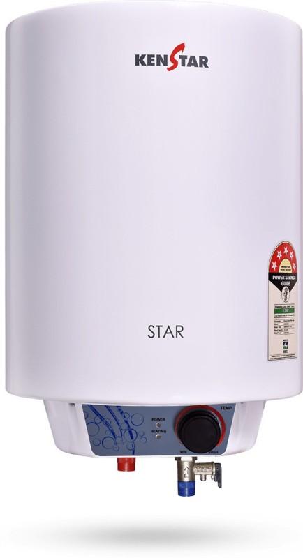 Kenstar 6 L Storage Water Geyser (CWHKEN06, White)
