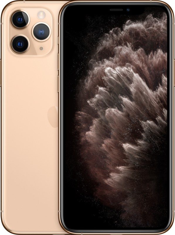 Apple iPhone 11 Pro Max (Gold, 64 GB)